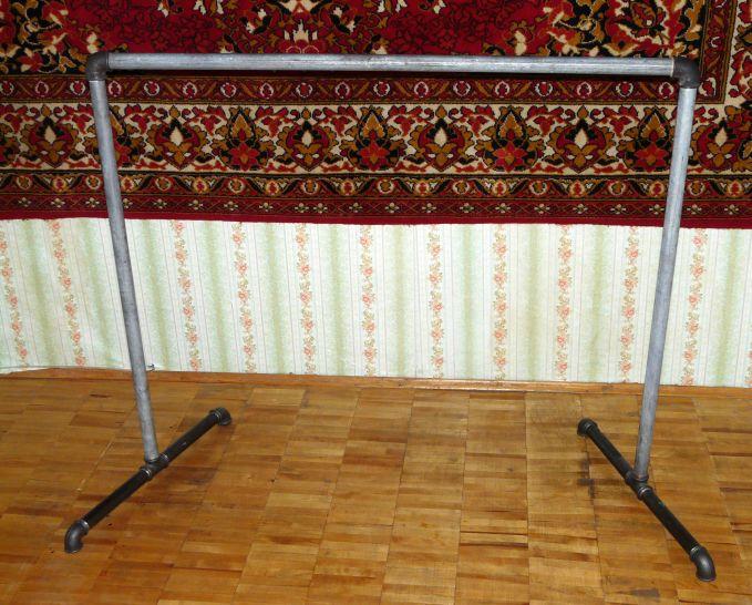 Балетный станок переносной своими руками 44
